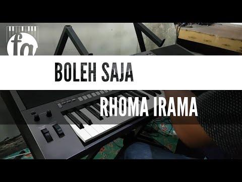 BOLEH SAJA - KARAOKE RHOMA IRAMA