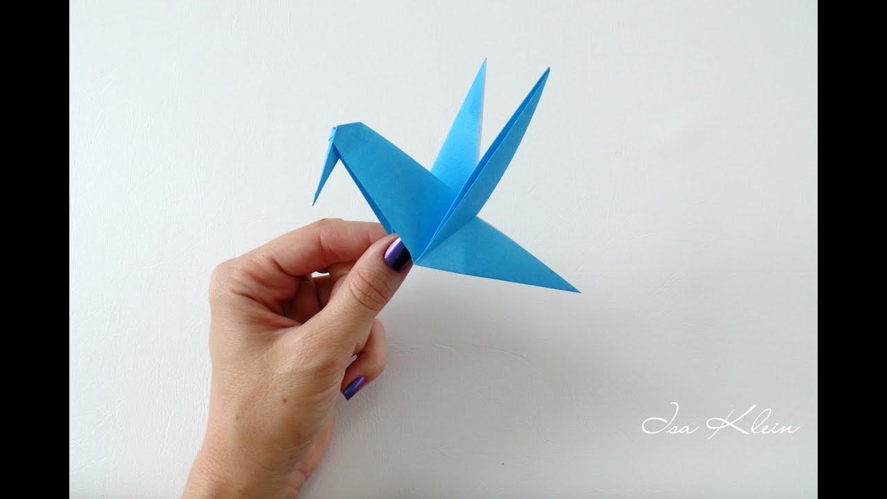 Papercraft Origami Beija-flor