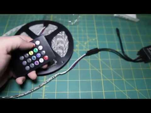 Supernight Music Sensor Controller for RGB LED Strip Unbox