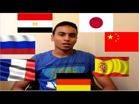 Egyptian speaks 8 languages