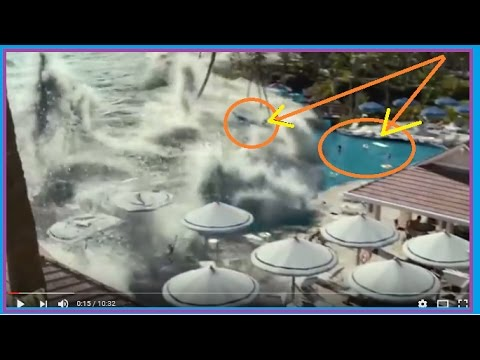 BIGGEST TSUNAMI IN THE WORLD - LARGEST TSUNAMI MONSTER TSUNAMI WORST TSUNAMI CAUGHT ON TAPE TSUNAMI