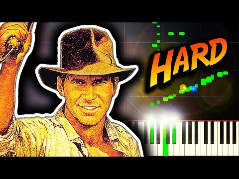 RAIDERS MARCH from Indiana Jones and the Raiders of the Lost Ark  Piano Tutorial