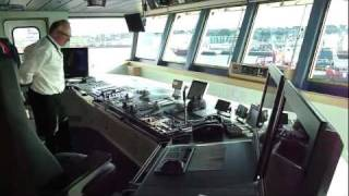 Tour of the Bridge of the AHTS Maersk Laser