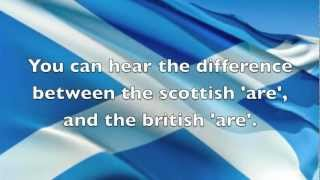 English vs Scottish accent