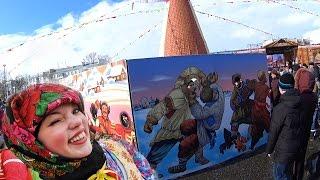 видео Празднование Масленицы в 2016 году