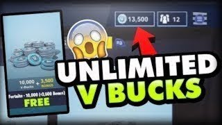 Free Vbucks on Fortnite!