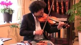 葉加瀬太郎による、クラシックヴァイオリンの愛機 Giuseppe Antonio Roc...