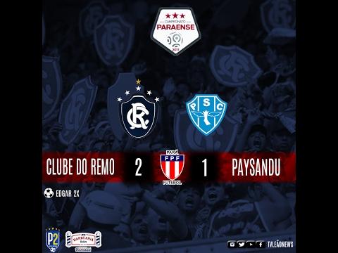 Paraense 2017 - Clube do Remo 2 x 1 Paysandu - Jogo Completo