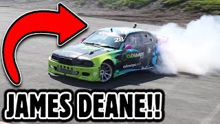 JAMES DEANE rips up Driftland in 700BHP MONSTER