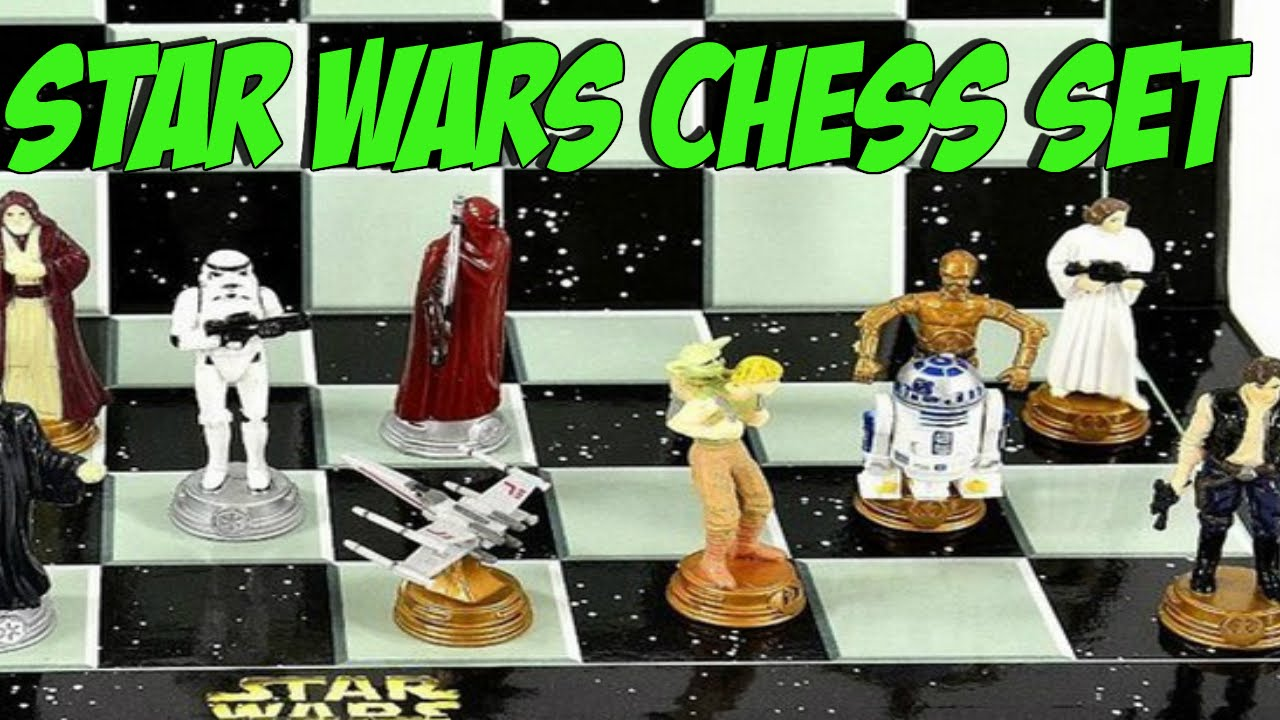 Star Wars Chess Set Chess Set For Crazy Star Wars Fans