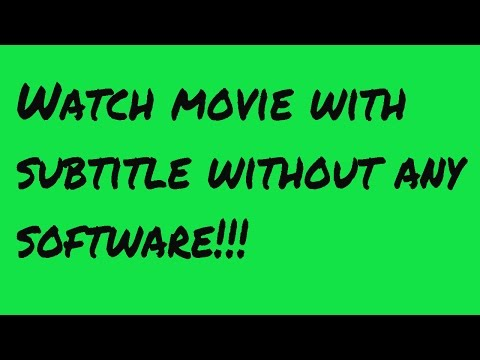 ▶BSPlayer - Watch Movie With Subtitle Without Any Software!!!
