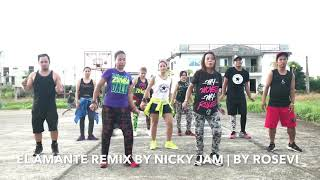 El Amante Remix | Nicky Jam | Zumba®Fitness | by RoseviR