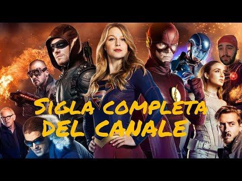 SIGLA COMPLETA CANALE - DC SERIES STORY ON BIG BANG THEORY THEME