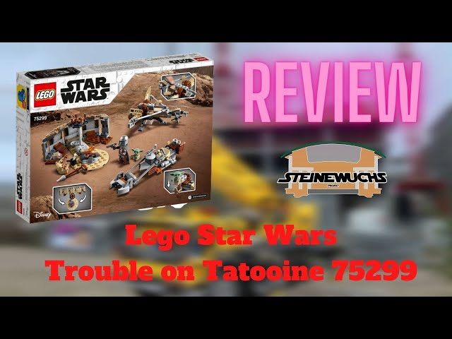 Review - Star Wars Trouble on Tatooine 75299