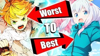 EVERY WINTER OF 2019 ANIME RANKED WORST TO BEST