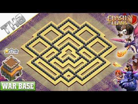 NEW COC TH8 War Base 2019 With COPY LINK! Anti 2 & 3 Stars TH8 Base – Clash Of Clans