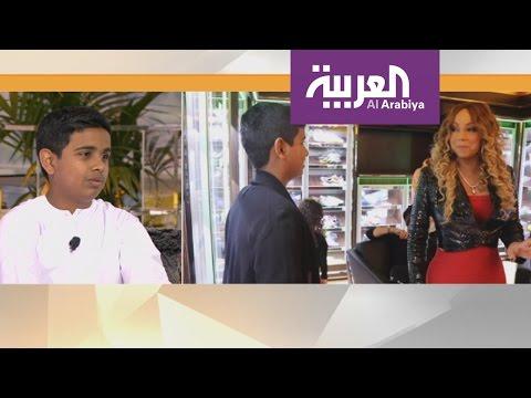 صباح العربية : راشد بالحصا مراهق اماراتي اشتهر باستضافته النجوم واستعراض ثرائه
