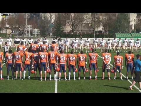 ASV TV - Corsaires vs Quarks - Football Américain - 3ième Journée D2 2014
