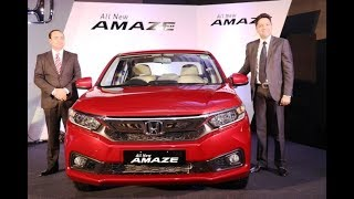 Honda Cars India Launches All-New 2nd Generation Honda Amaze In Chandigarh