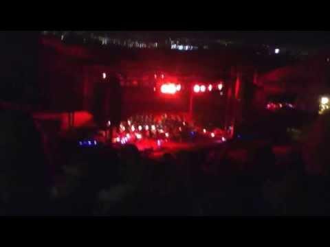 "Josh Groban Red Rocks 7/7/ ""Dream on"" into drum solo"