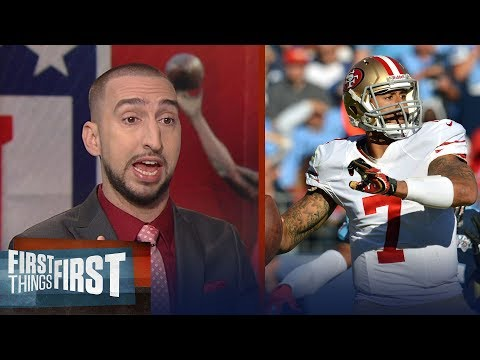 Tennessee Titans pass on Colin Kaepernick - Nick Wright and Cris Carter react | FIRST THINGS FIRST