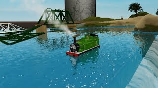 Thomas and Friends Train on Roblox The cool beans railway two
