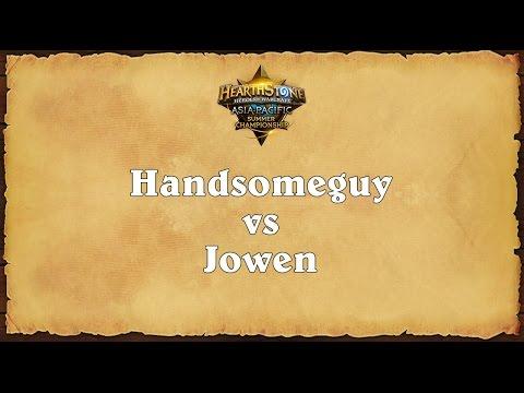 Handsomeguy vs Jowen - Asia-Pacific Summer Championship - Quarterfinal  1
