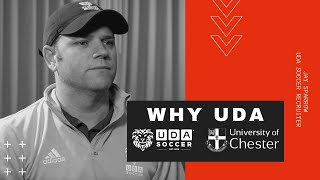 Jay Sparrow, UDA Soccer Recruiter, on the UDA Soccer program at the University of Chester in the UK.
