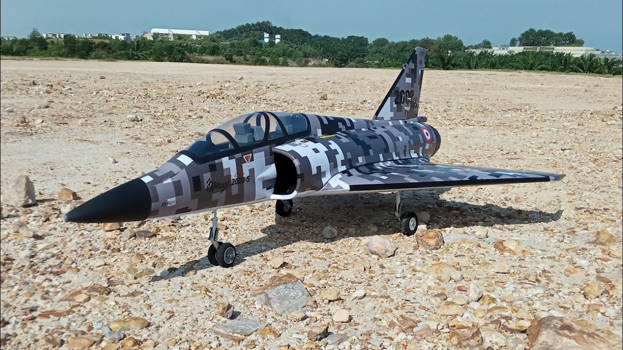 Download Mirage 2000 RC plane unboxing, build & fly.