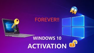 How to Active Windows 10 Forever | All Editions | Without any Software or Keys | (2020 Update)