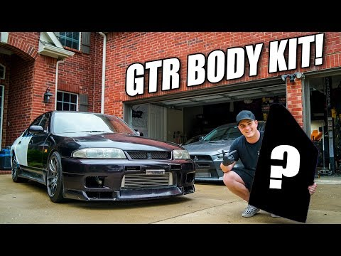 "TAKING DELIVERY OF MY GT-R ""WIDEBODY"" KIT!"