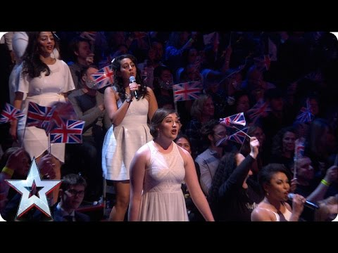 The Collaborative Orchestra & Singers take to the studio! | Semi-Final 4 | Britain's Got Talent 2016