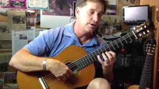 Learn capricio Arabe by Tarrega, classical guitar