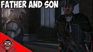 Repeat youtube video Assassin's Creed 3 - Connor And Haytham Cutscenes And Fights