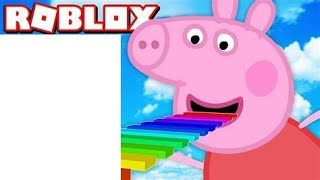 I PLAYED ROBLOX WITH PEPPA PIG