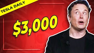 Elon Musk on a $3,000 TSLA Price, Other Leaks, Berlin Funding, & More