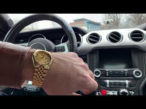 Review Seiko SGF206 Gold Tone Rolex Homage