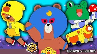 BRAWL STARS X LINE FRIENDS (New Skin Primo, Leon & Carl)