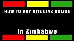 How to buy bitcoins in Zimbabwe using Ecocash