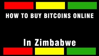 How to buy bitcoins in Zimbabwe using Ecocash