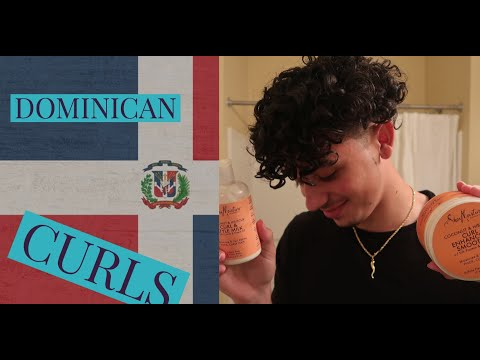 CURLY HAIR TUTORIAL/ROUTINE!!! (Dominican)