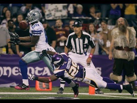Dez Bryant First Career Td Catch Cowboys Vs Vikings 10 17 2010
