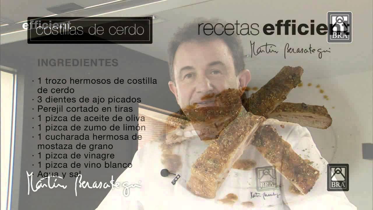 Martin Berasategui Cocina Con Bra Youtube
