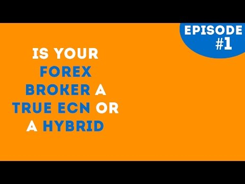 IS YOUR FOREX BROKER TRADING AGAINST YOU or WITH YOU? (A True ECN or Hybrid)