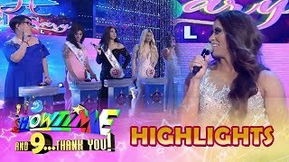 It's Showtime Miss Q and A: Alakdawn Zulueta describes the other candidates
