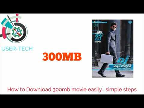 How to Download 300Mb Movie Easily ....