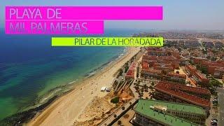 Playa de  Mil Palmeras. Лучшие пляжи Испании(Испания на русском