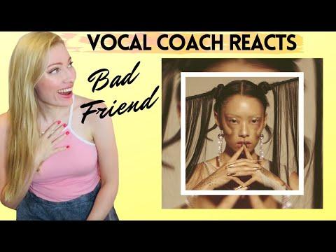 Vocal Coach Reacts: RINA SAWAYAMA &39;Bad Friend&39; First Listen