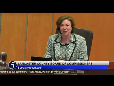 Lancaster County Board of Commissioners April 25, 2017