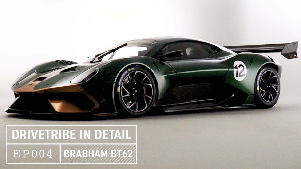 Brabham BT62 Hypercar - Enough downforce to drive upside down? | DriveTribe  In Detail – Episode 04